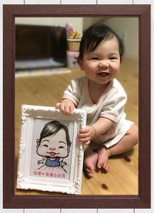 おすすめ!かわいい赤ちゃんの似顔絵
