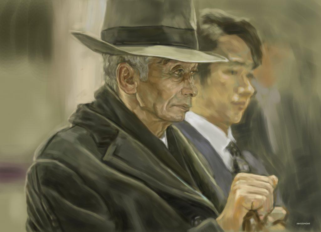 【老人の内面まで表現したい】油絵の練習作品